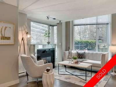 Coal Harbour Townhouse for sale:  2 bedroom 1,357 sq.ft. (Listed 2018-03-30)