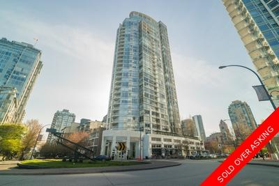 Yaletown Apartment for sale: The Peninsula 1 bedroom 761 sq.ft. (Listed 2018-04-24)