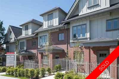 South Granville Townhouse for sale:  3 bedroom 1,411 sq.ft. (Listed 2018-04-25)